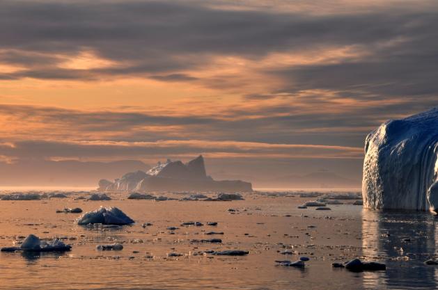 Dans le passé de la Terre, des débâcles d'icebergs ont déjà provoqué, en affaiblissant le courant Atlantique Nord issu du Gulf Stream, des refroidissements rapides du climat. Doc. Freeimages, DR.