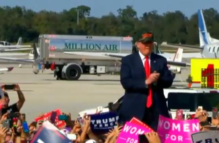 Donald Trump durant sa campagne.