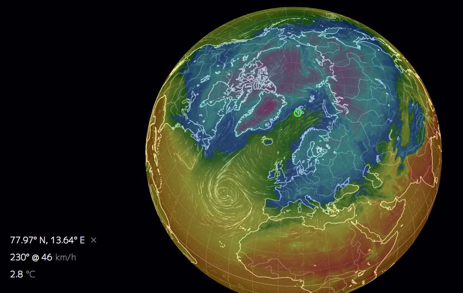 Quand le « réchauffement » fait perdre la boule à la météo ...
